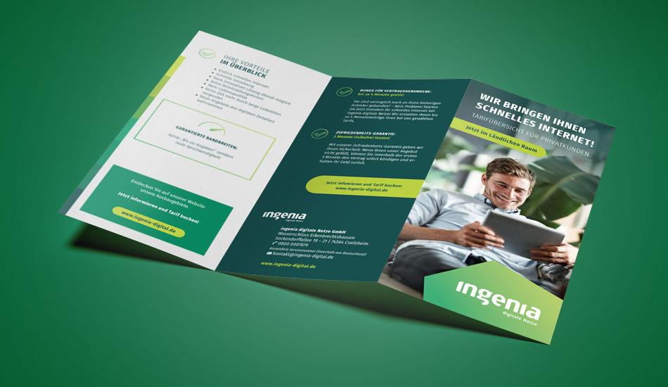 ingenia Broschüre für Privatkunden
