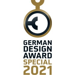 German Design Award 2021 für querformat