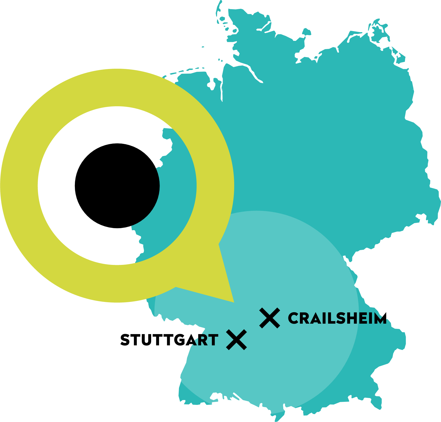 querformat Standorte Crailsheim und Stuttgart
